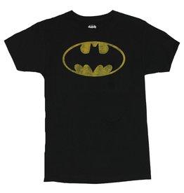 BATMAN VINTAGE OVAL LOGO T-SHIRT