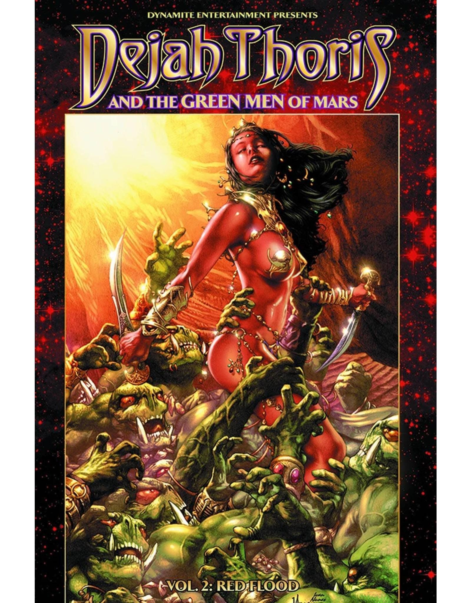D. E. DEJAH THORIS & GREEN MEN OF MARS TP VOL 02