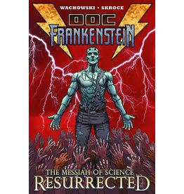 BURLYMAN ENTERTAINMENT DOC FRANKENSTEIN TP VOL 01 MESSIAH OF SCIENCE RESURRECTED