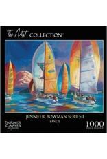 1000 PIECE THE ARTIST COLLECTION JENNIFER BOWMAN SERIES 1 FANCY PUZZLE