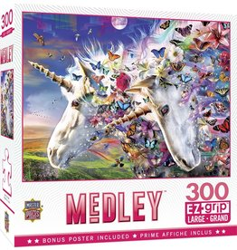 MAGICAL JOURNEY UNICORNS AND BUTTERFLIES 300 PIECE PUZZLE