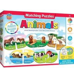 ANIMALS MATCHING PUZZLES