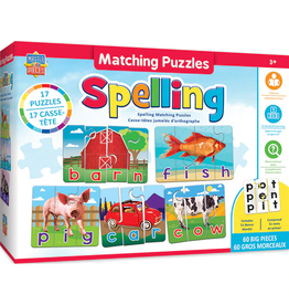 SPELLING MATCHING PUZZLES