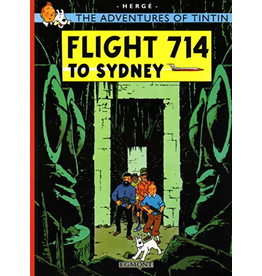 LITTLE BROWN & COMPANY TINTIN VOL 20 FLIGHT 714 TO SIDNEY TP