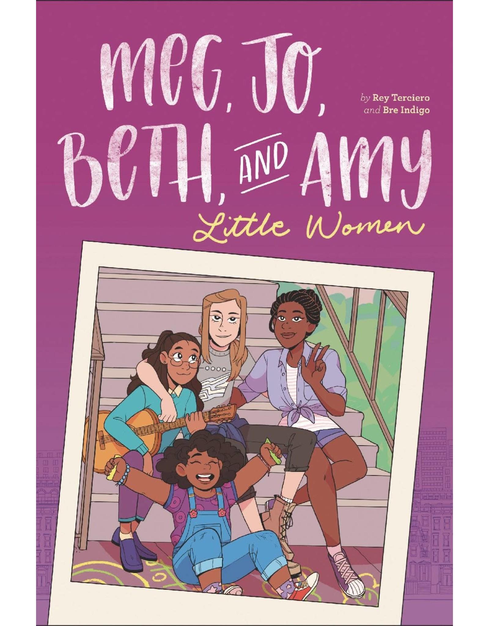 LITTLE BROWN BOOK FOR YOUNG RE MEG JO BETH & AMY MODERN RETELLING LITTLE WOMEN GN