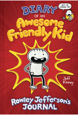 AMULET BOOKS DIARY OF AWESOME FRIENDLY KID HC ROWLEY JEFFERSONS JOURNAL