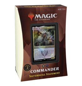 WIZARDS OF THE COAST COMMANDER DECK SILVERQUILL STATEMENT