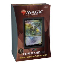 WIZARDS OF THE COAST COMMANDER DECK WITHERBLOOM WITCHCRAFT