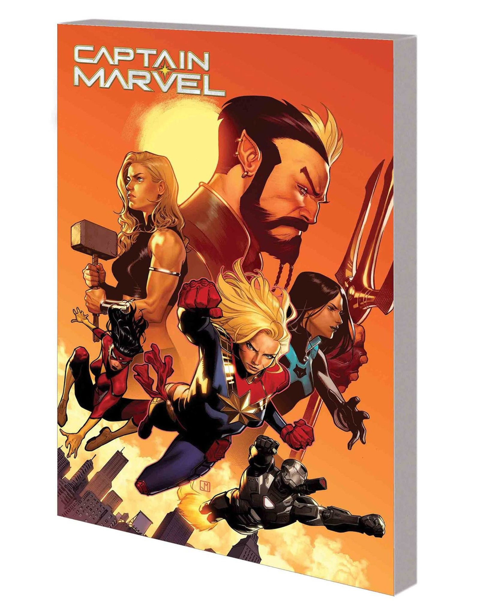 MARVEL COMICS CAPTAIN MARVEL TP VOL 05 NEW WORLD