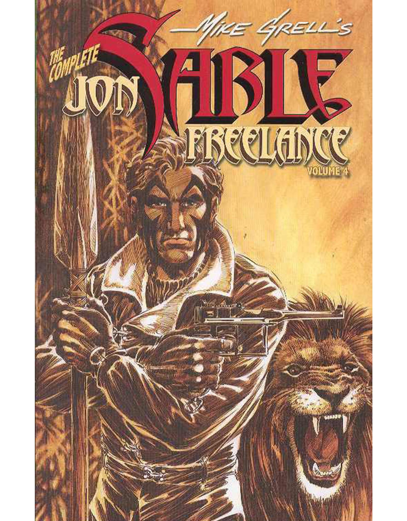 IDW PUBLISHING COMPLETE JON SABLE FREELANCE TP VOL 04