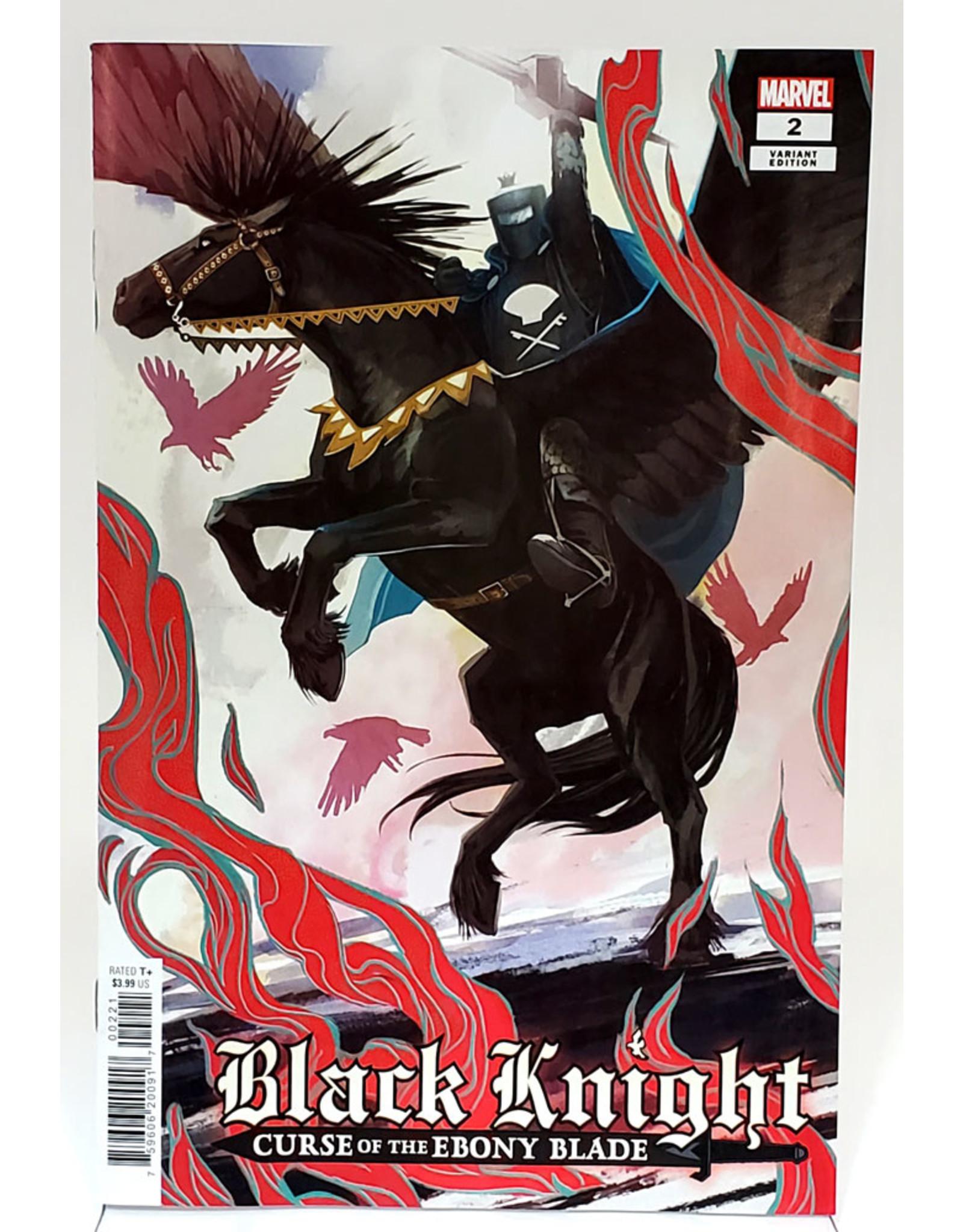 MARVEL COMICS BLACK KNIGHT CURSE EBONY BLADE #2 (OF 5) HANS VAR