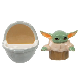 STAR WARS THE CHILD SALT AND PEPPER SHAKERS