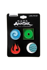 AVATAR ELEMENTS ENAMEL PIN SET