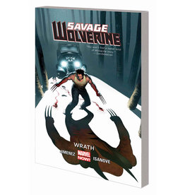 MARVEL COMICS SAVAGE WOLVERINE TP VOL 03 WRATH
