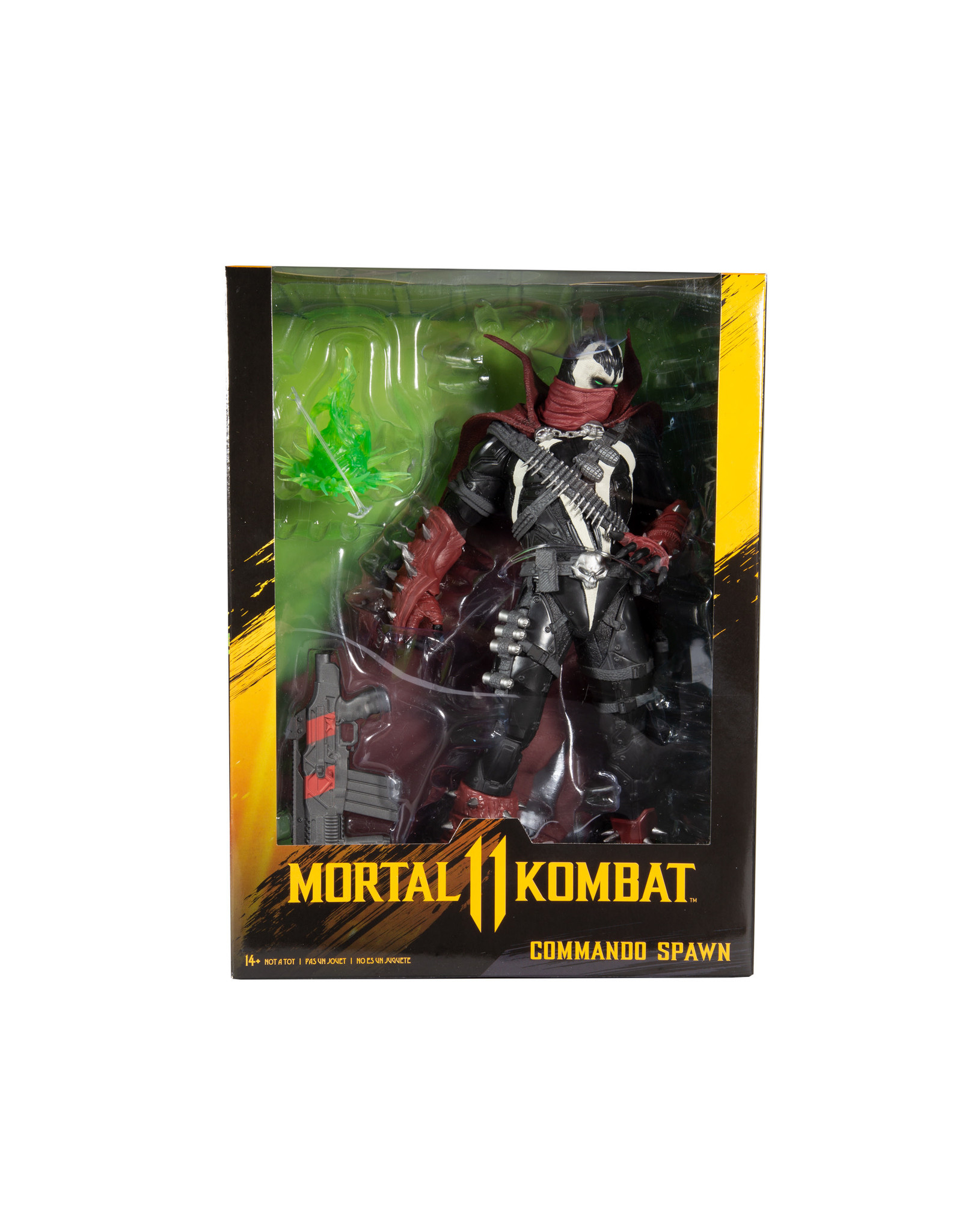 MORTAL KOMBAT 12IN COMMANDO SPAWN ACTION FIGURE