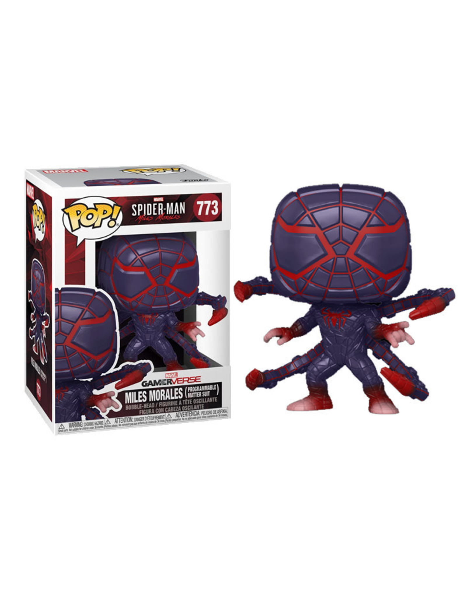 FUNKO POP SPIDER-MAN MILES MORALES PROGRAMMABLE MATTER SUIT