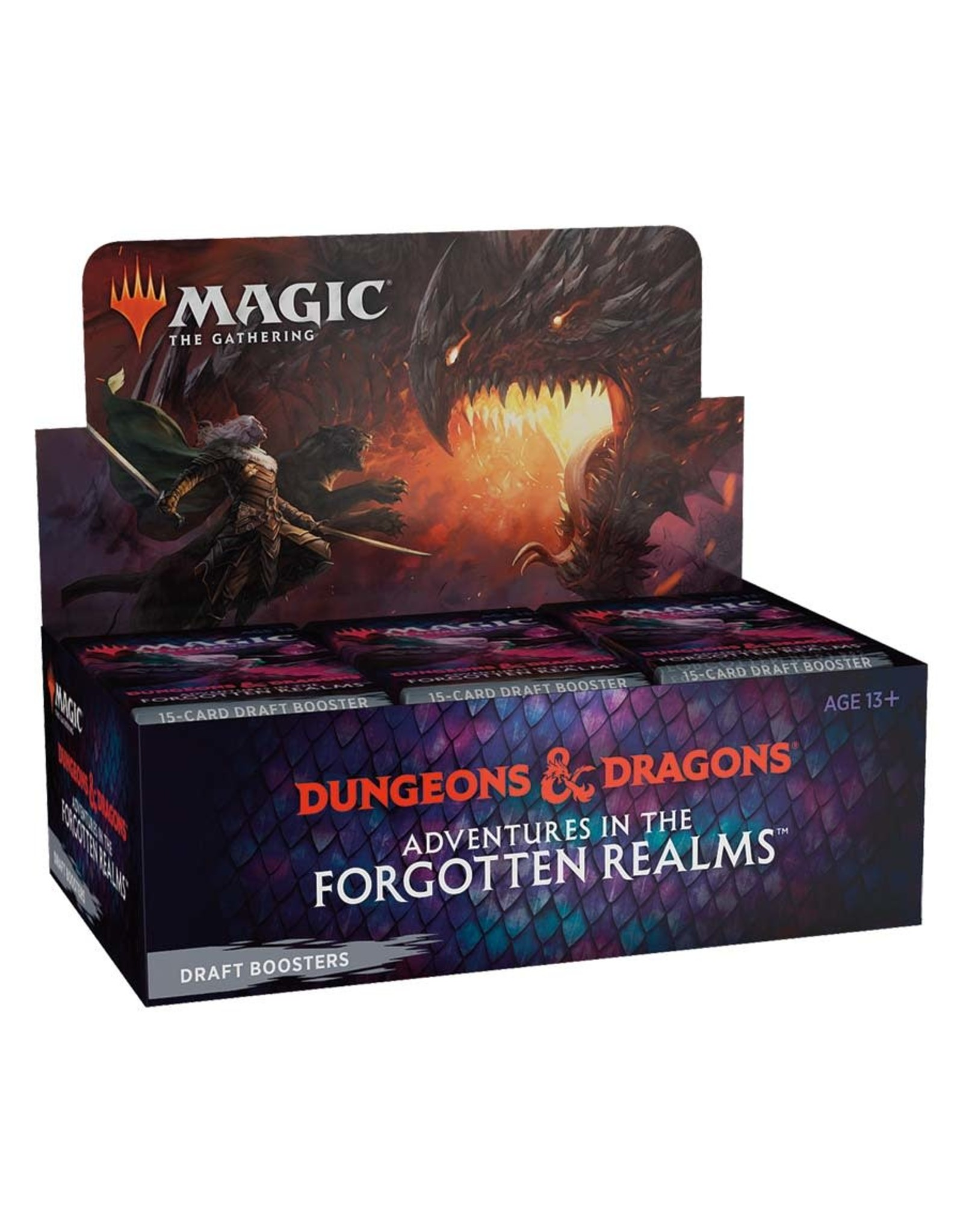 WIZARDS OF THE COAST MTG ADVENTURES IN THE FORGOTTEN REALMS DRAFT BOOSTER BOX PRE-ORDER