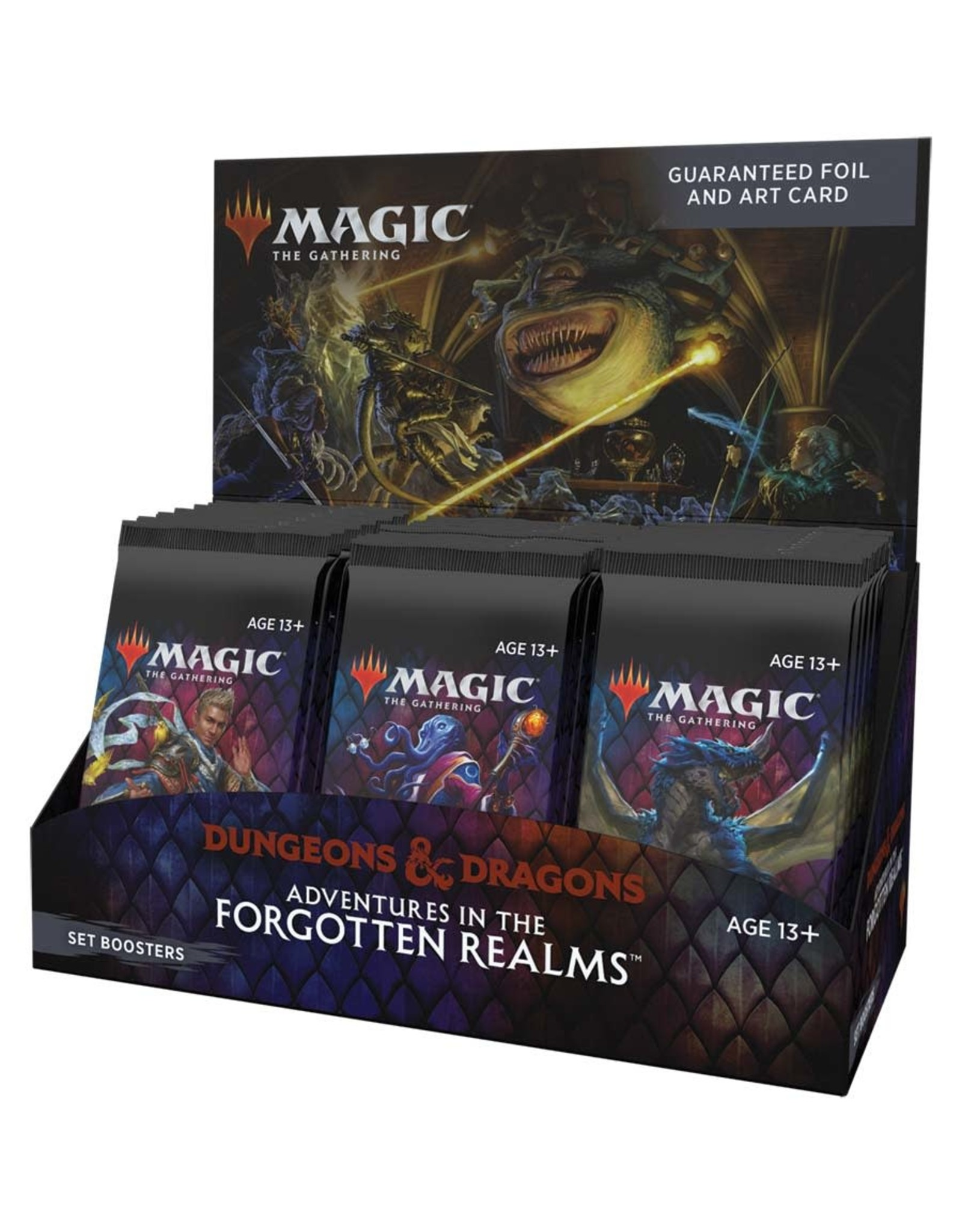 WIZARDS OF THE COAST MTG ADVENTURES IN THE FORGOTTEN REALMS SET BOOSTER BOX PRE-ORDER