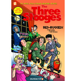 PAPERCUTZ THREE STOOGES GN VOL 01 BED BUGGED