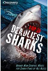 ZENESCOPE ENTERTAINMENT INC DISCOVERY TOP 10 DEADLIEST SHARKS GN