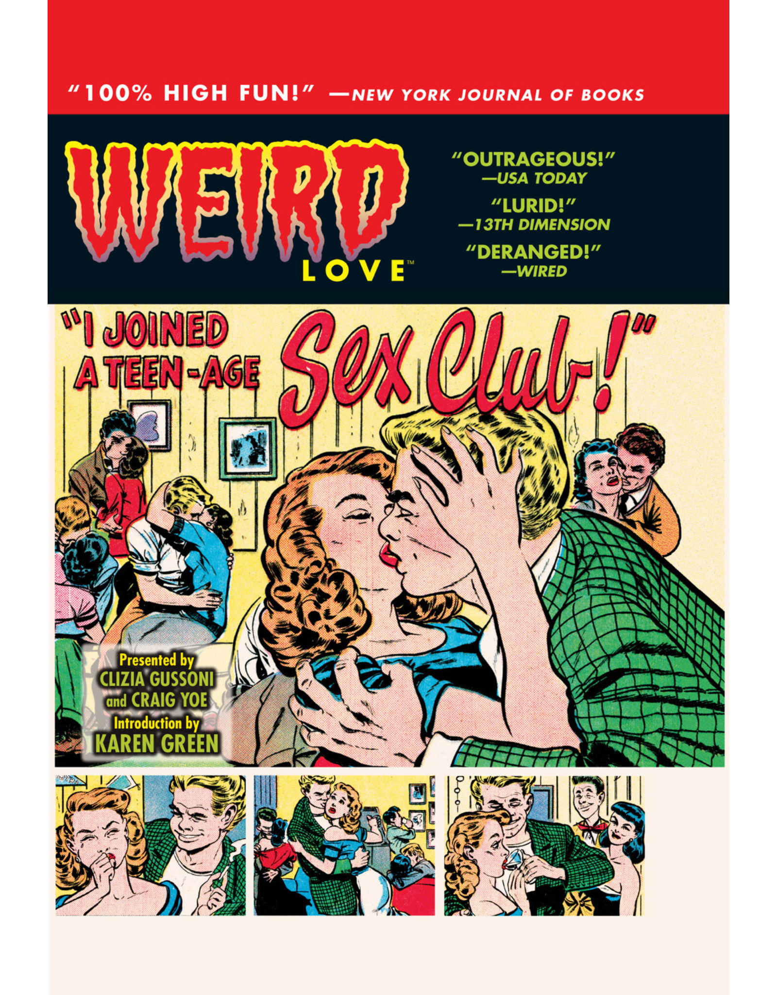 IDW PUBLISHING WEIRD LOVE HC I JOINED A TEEN-AGE SEX CLUB
