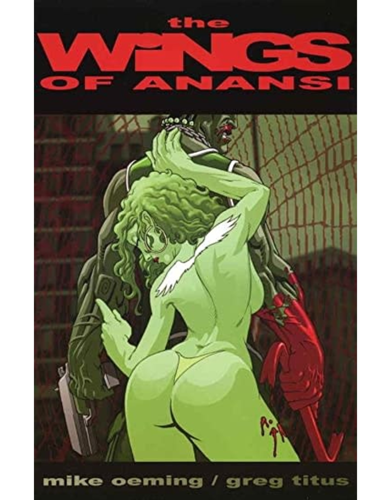 IMAGE COMICS THE WINGS OF ANANSI
