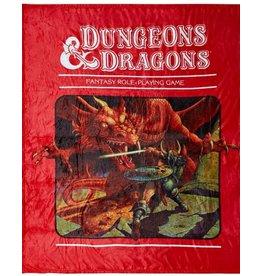 BIOWORLD DUNGEONS & DRAGONS FANTASY RPG PLUSH THROW BLANKET