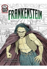 DOVER PUBLICATIONS COLOR YOUR OWN GRAPHIC NOVEL FRANKENSTEIN