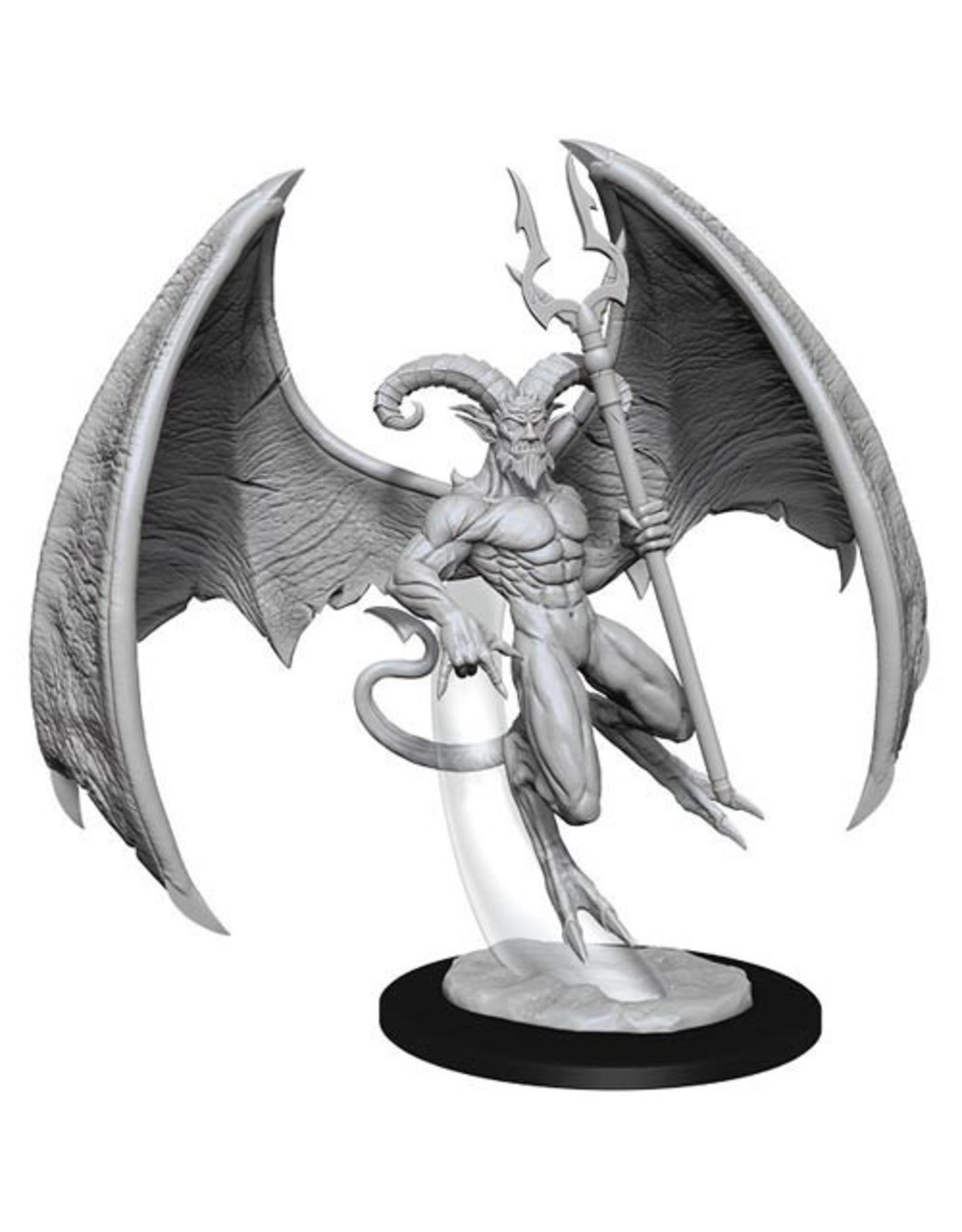 WIZKIDS D&D NOLZUR'S MARVELOUS UNPAINTED MINIS W14 HORNED DEVIL