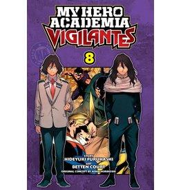 VIZ MEDIA LLC MY HERO ACADEMIA VIGILANTES GN VOL 08