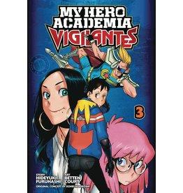 VIZ MEDIA LLC MY HERO ACADEMIA VIGILANTES GN VOL 03