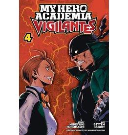 VIZ MEDIA LLC MY HERO ACADEMIA VIGILANTES GN VOL 04