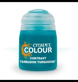 GAMES WORKSHOP CITADEL COLOUR CONTRAST: TERRADON TURQUOISE 18 ML