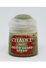 GAMES WORKSHOP CITADEL BASE DEATH GUARD GREEN