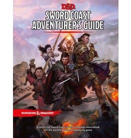 WIZARDS OF THE COAST D&D 5TH EDITION SWORD COAST ADVENTURER'S GUIDE