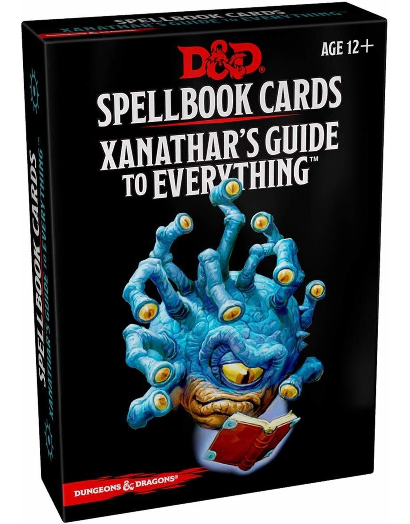 WIZARDS OF THE COAST D&D SPELLBOOK CARDS XANATHAR'S GUIDE