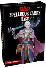 WIZARDS OF THE COAST D&D SPELLBOOK CARDS BARD