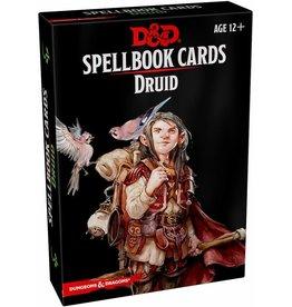 WIZARD ENTERTAINMENT D&D SPELLBOOK CARDS DRUID