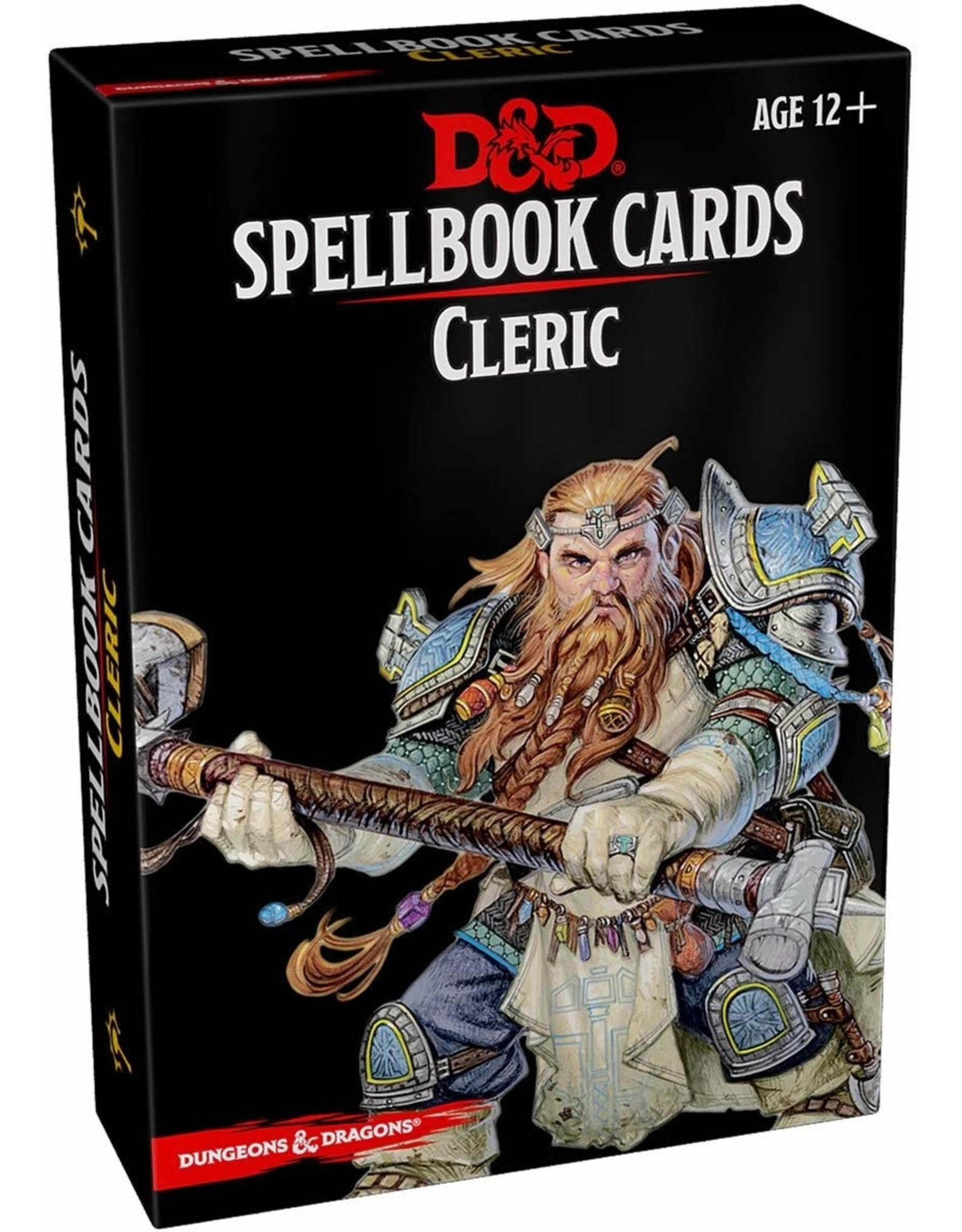WIZARDS OF THE COAST D&D SPELLBOOK CARDS CLERIC