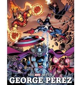 MARVEL COMICS MARVEL ART OF GEORGE PEREZ HC