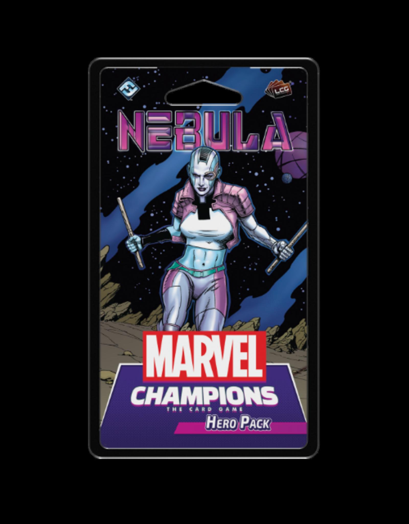 FANTASY FLIGHT GAMES MARVEL CHAMPIONS LCG: NEBULA HERO PACK PRE-ORDER