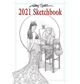 ABSTRACT STUDIOS TERRY MOORE 2021 SKETCHBOOK