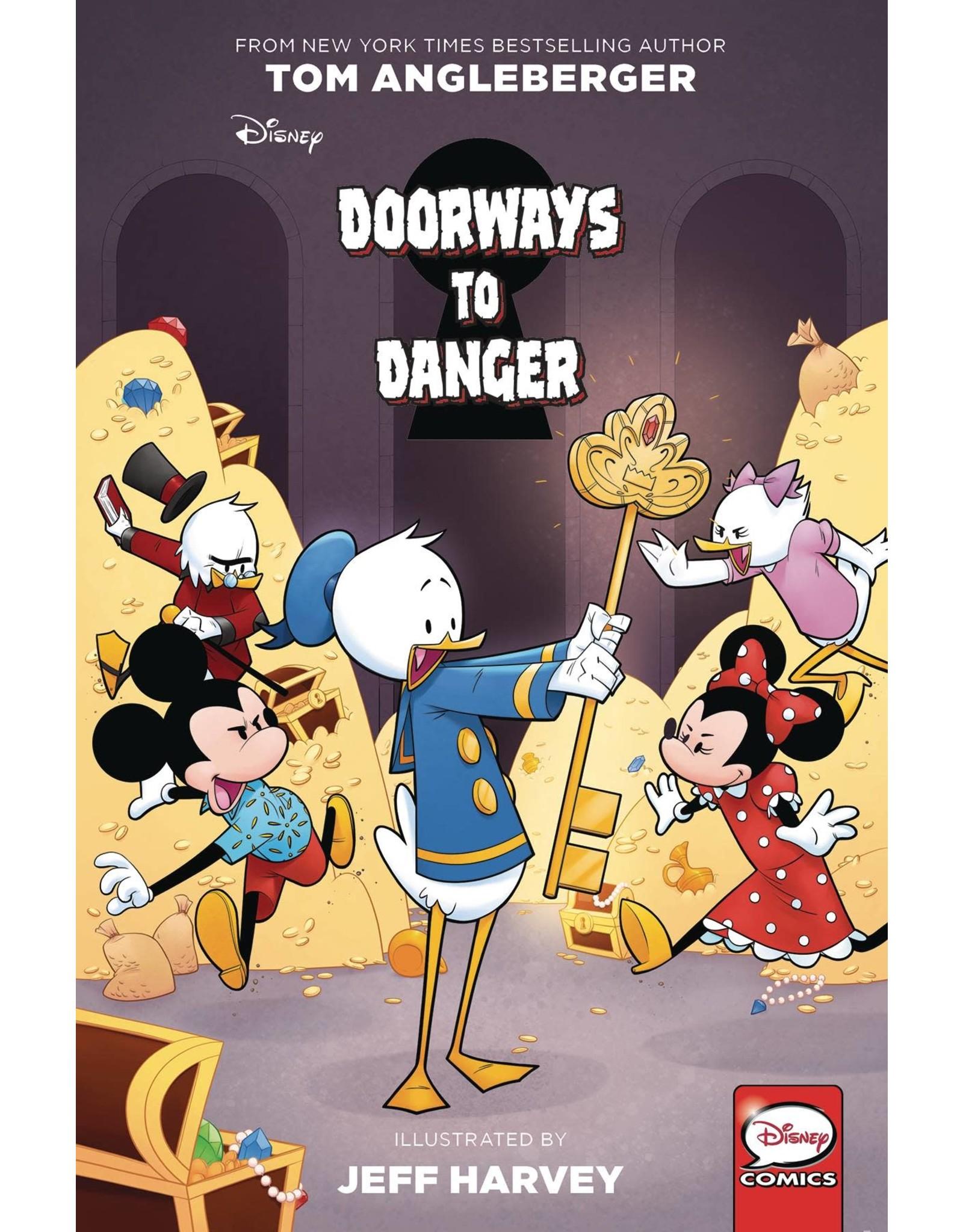 IDW PUBLISHING DISNEYS DOORWAYS TO DANGER GN
