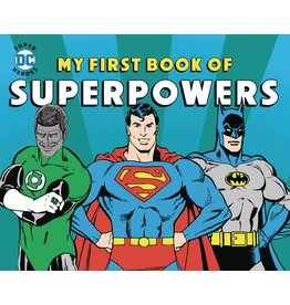 DOWNTOWN BOOKWORKS DC SUPER HEROES MY FIRST BOOK OF SUPERPOWERS BOARD BOOK