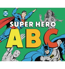 DOWNTOWN BOOKWORKS DC SUPER HEROES ABC BOARD BOOK
