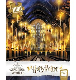 USAOPOLY HARRY POTTER GREAT HALL 1000 PIECE PUZZLE