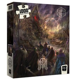 USAOPOLY CRITICAL ROLE MIGHTY NEIN ISHARNAI`S HUT 1000 PC PUZZLE