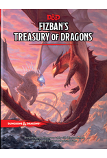 WIZARDS OF THE COAST DUNGEONS & DRAGONS 5TH EDITION FIZBAN'S TREASURY OF DRAGONS PRE-ORDER