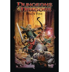IDW PUBLISHING DUNGEONS & DRAGONS FELLS FIVE TP