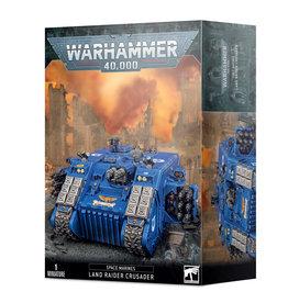 GAMES WORKSHOP WARHAMMER 40K SPACE MARINES LAND RAIDER